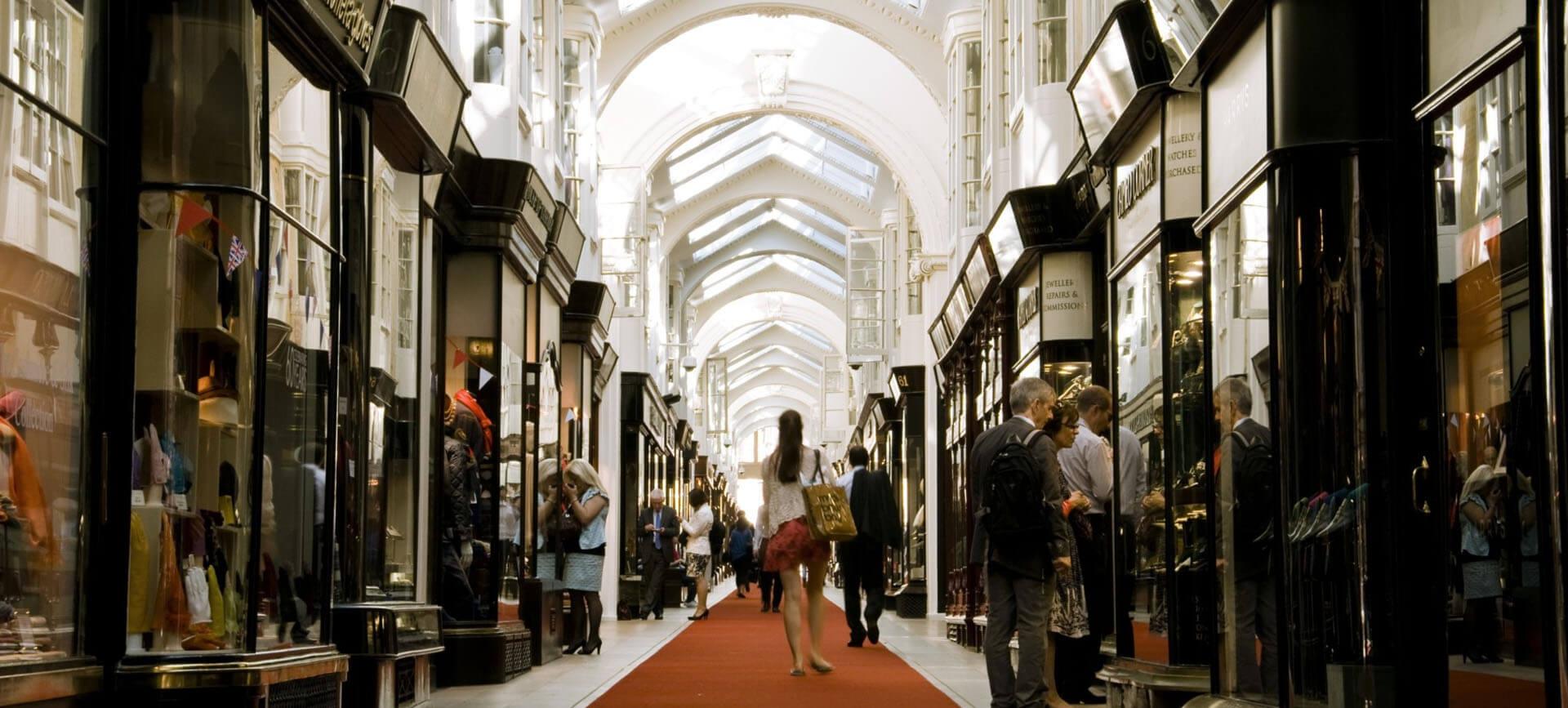 The beautiful Burlington Arcade