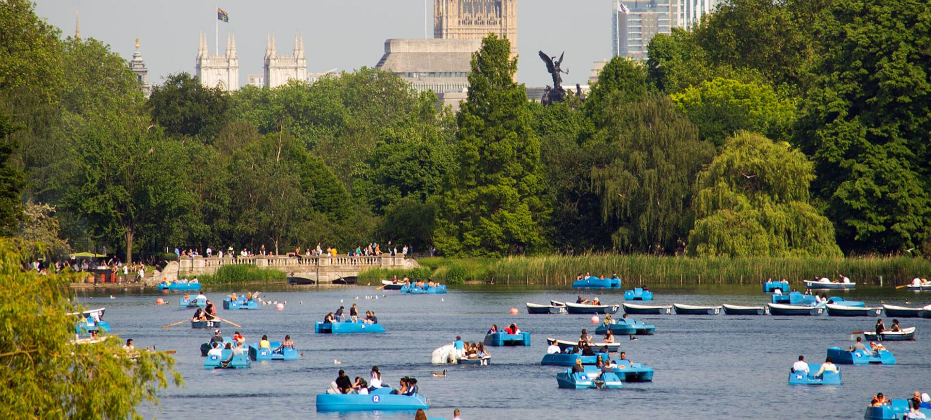 The Serpentine Boating Lake – Mayfair London