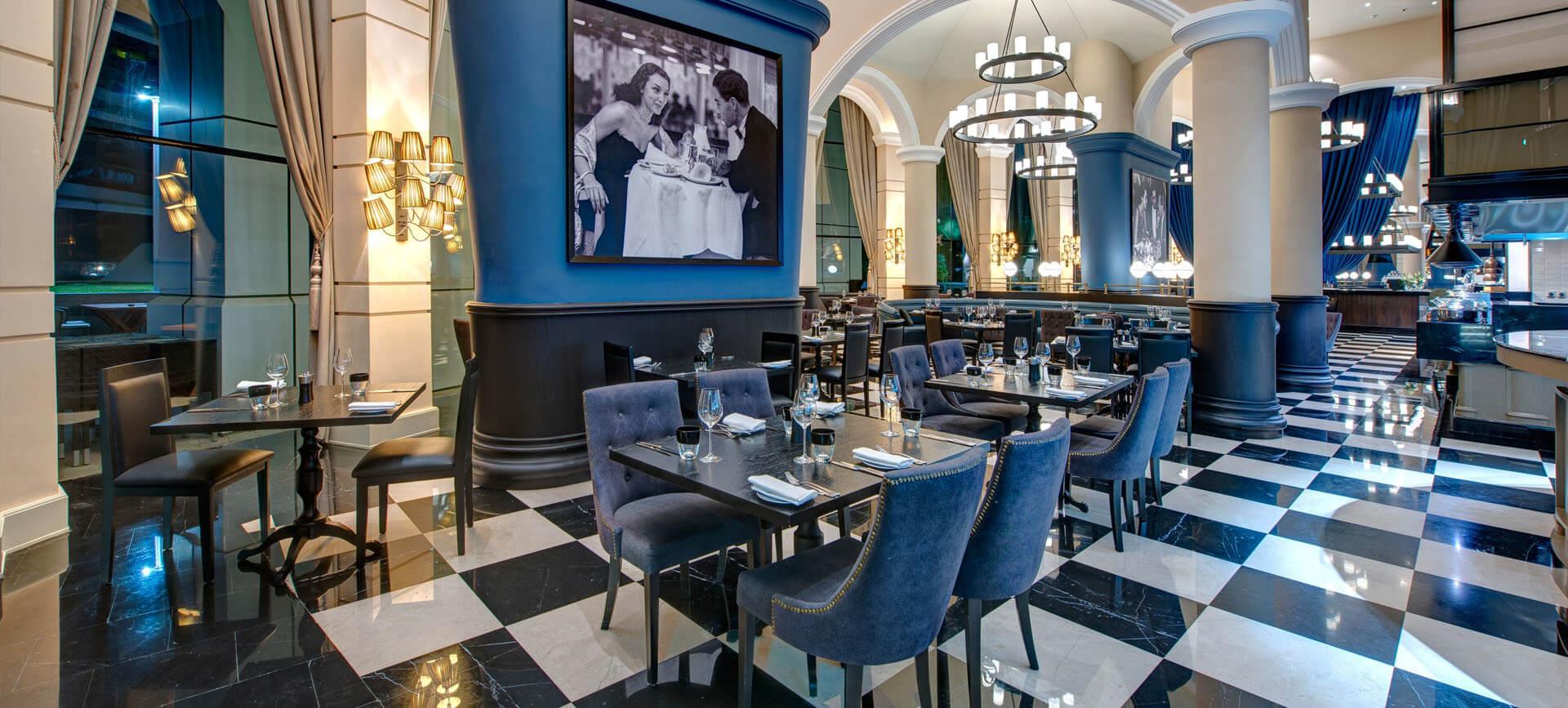 The GrEAT British Restaurant in Mayfair