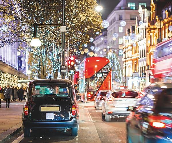 Christmas Illumination Mayfair