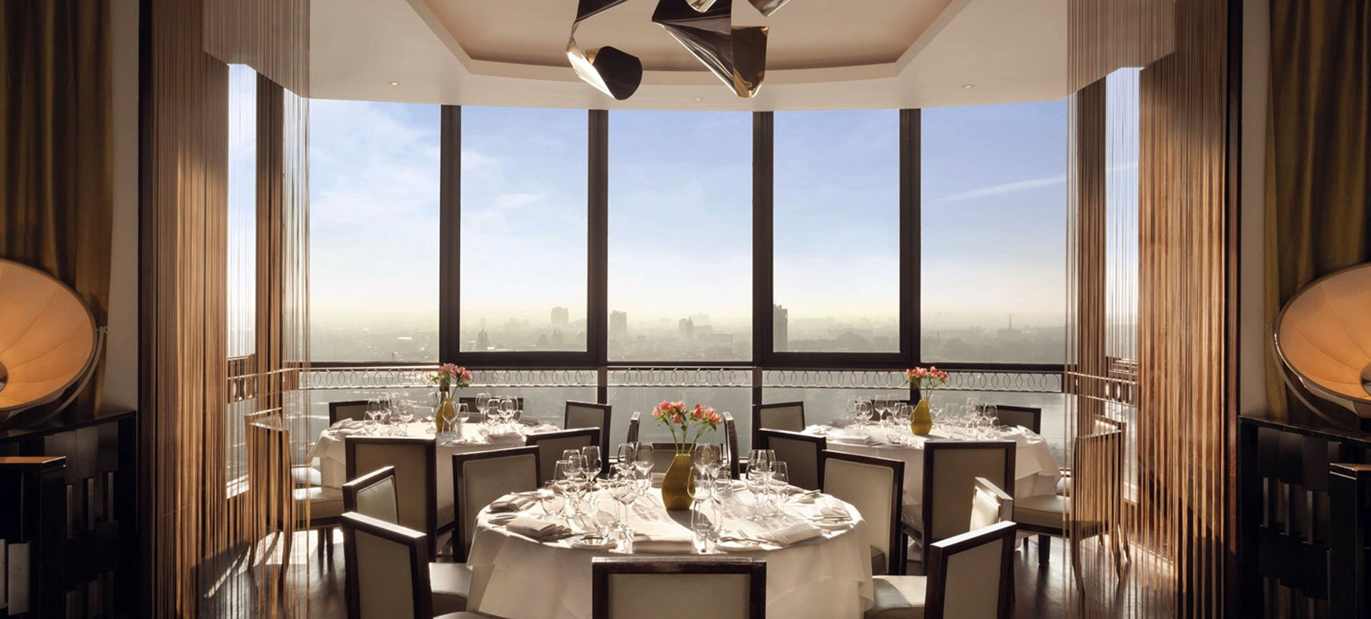 Dine in the sky on Park Lane