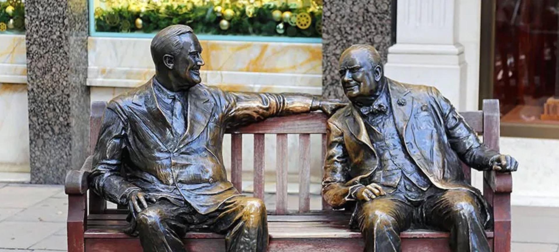 allies statue