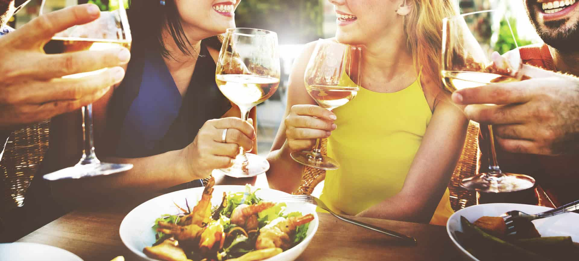 Al fresco dining in Mayfair