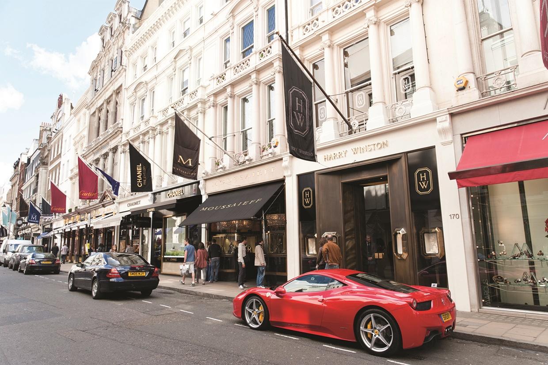 Mayfair in London