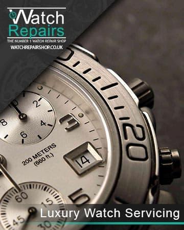 Luxury watch Servicing
