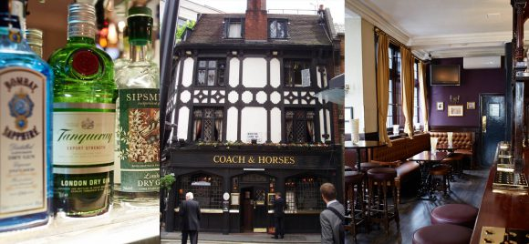 Coach and Horses public house in Mayfair
