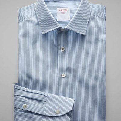 Pink Shirt-maker mayfair shop