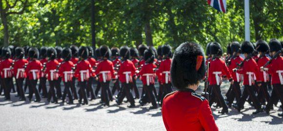 Royal celebrations in Mayfair