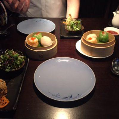 dim-sum-selection hakkasan restaurant